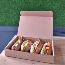 Kolbászos szendvics box