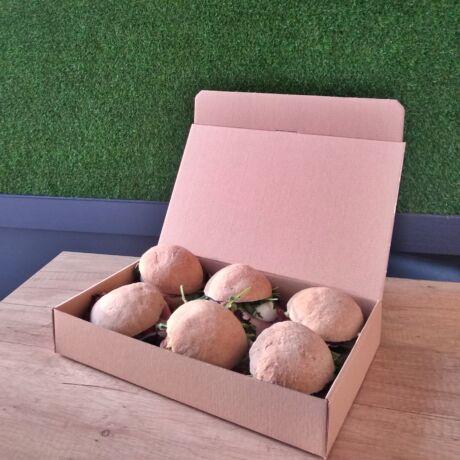 Sonkás szendvics box