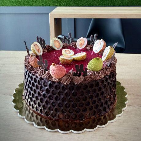 Málnás Csokoládé torta